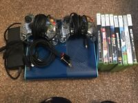 Xbox 360 Console with games for sale