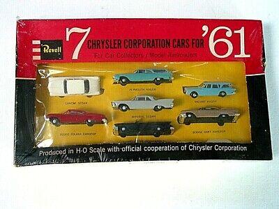 REVELL CHRYSLER CORP. CARS FOR 1961 .. SET ..ORIG. SHRINK WRAP