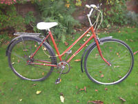 RALEIGH THREE SPEED ONE OF MANY QUALITY BICYCLES FOR SALE