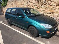 Ford focus ghia estate 1.8 petrol y-reg 2001! 12mths mot! Full elecs! Good runner! £395! Px to go!!