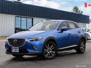 2016 Mazda CX-3 GTlONE OWNERlNAVIlREARVIEW CAMlPWR S/ROOFlLEATHE