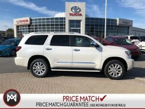 2018 Toyota Sequoia 4W 8CYL AMAZING VALUE!! 2018 SEQUOIA 4WD PLA