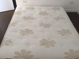 Beautiful Handcrafted Super King mattress by Relyon - almost new!!!