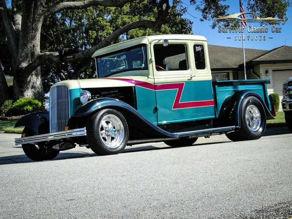 1933 FordPickupStreet RODGreen (Dark)Survivor Classic Car Services LLC