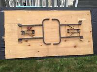 FREE 2 wooden long table