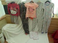 girls night wear. hello kitty etc. few items