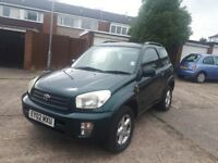 Toyota rav4 2.0 4x4 only 2 owners from new stacks of paperwork long mot vgc