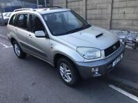 2003 53 Toyota Rav 4 2.0 D-4D GX 5 Door ** DIESEL - SPARES OR REPAIRS **