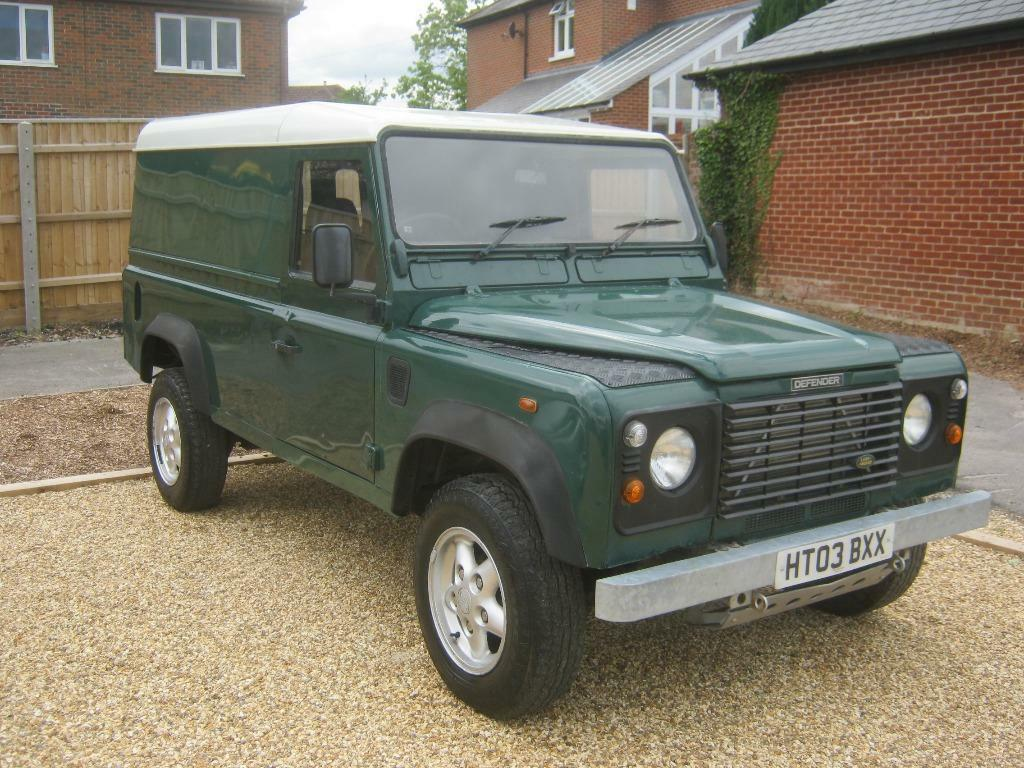 Land Rover Defender 110 4 X 4 Van 2 5 Td5 2003 With 2