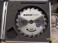a new rockpoint wood cutting blade in its case