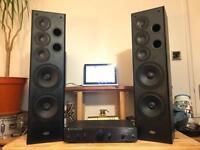CAMBRIDGE AMP & ELTAX C-205 SPEAKERS