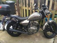 125cc Zontes Motorcycle - 16plate