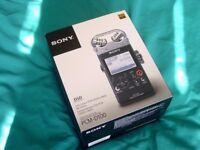 Sony PCM-D100 Hi Res Linear pcm Recorder. brand new pcm d100