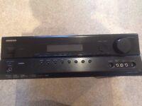 For sale Onkyo Amplifier Surround Home Theatre TX-SR307