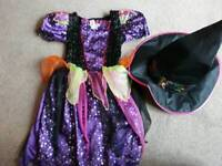 Witch dress 5-6years