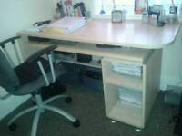 Office desk and set of drawers offers invited