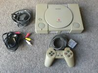 Sony Playstation PS1 Console SCPH-1002 - for parts / repair
