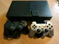 Sony PS2 with 2 controllers