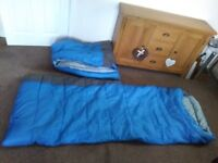 2 Sleeping bags. Mint condition