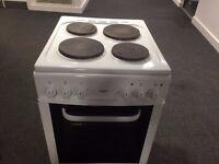 £75.00 bush new model steel plates electric cooker+50cm+3 months warranty for £75.00