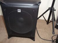 LUCUS NANNO 600 PA SYSTEM & SURE RADIO MICROPHONE