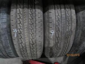 255/70R18 3 ONLY 1 IS USED AND 2 ARE NEW PIRELLI A/S TIRES