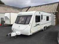 08 elddis liberte fixed bed twin axle with twin movers
