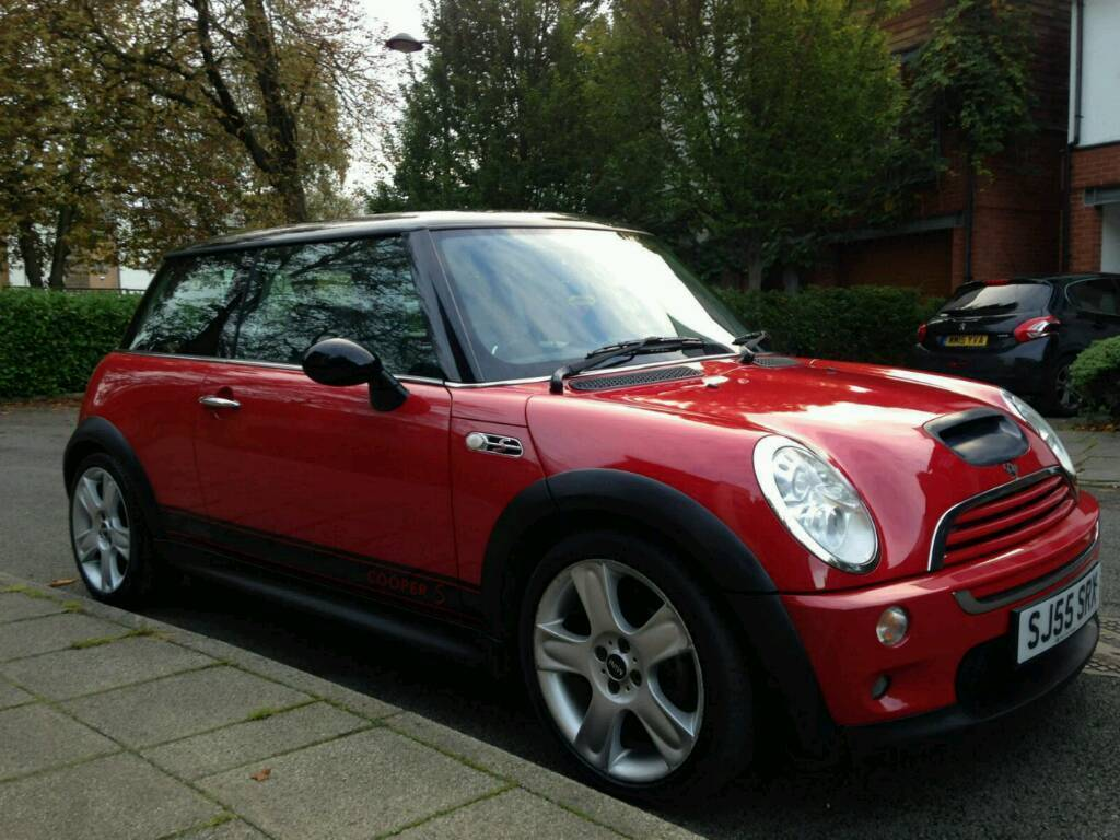 2005 Mini Cooper S Super Charged High Spec Red And Black Xenons