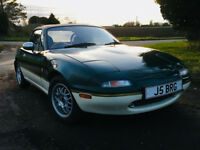 Classic Mazda mx5 Sports car, Lotus Tribute . Limited Edition with private Reg