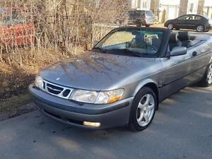 2001 Saab 93 Convertible,Auto,Turbo,Leather Seats,Mint,$4975