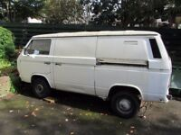 VW Type 25 Transporter Panel Van/Restoration or Spares