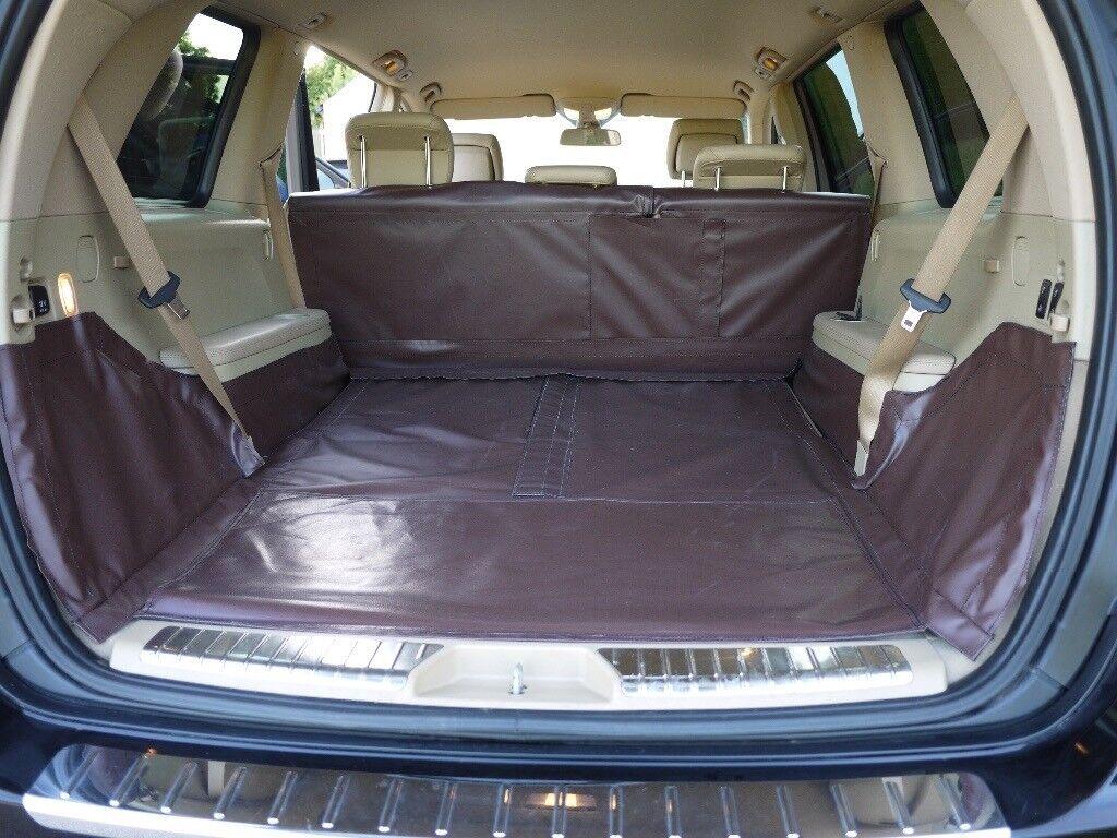 Custom made boot liner for Mercedes GL