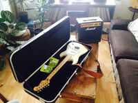 ***NOW REDUCED***Fender Stratocaster/ Marshall Amp/ Gator Case Bundle
