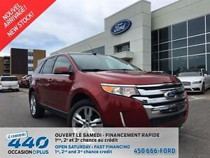 2014 Ford Edge Limited   AWD, CUIR, TOIT, NAVIGATION