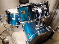 Pearl Prestige Session Select Maple & Mahogony Drum kit