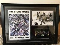 Stone roses autograph picture