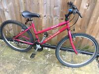 """Ladies 17"""" Raleigh Zest bike bicycle. Inc FREE lights & delivery"""