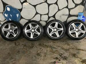 265 45R 20 CONTINENTAL CROSS CONTACT OFF MB ML350 AMG RIMS 5X112 10/32 DOT 0316