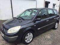 2005 Renault grand scenic 7 seater £650