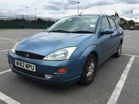 W REG FORD FOCUS GHIA 2.0 PETROL LOW MILES 61K LONG MOT MILES 5 DOOR SALOON