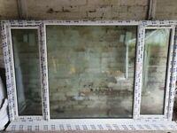 PVC Triple glazed window