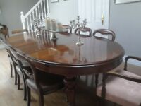 Dining Room Table Victorian