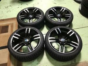 18 BMW M3/M4 Style Wheels, And 225/40R18 winter tires (3 Series)