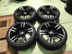 "18"" BMW M3/M4 Style Wheels, And 225/40R18 winter tires (3 Series)"