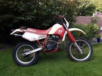RARE - 1987 Yamaha TT 250 Enduro/Trail Bike