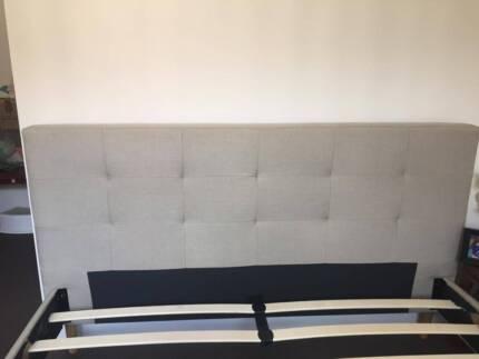 Fabric Double  bed unused