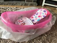 Baby bath - Mothercare pink