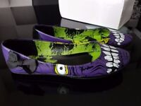 Good Condition Women's Iron Fist Monster Flat Shoes Size 4