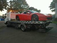 247Breakdown Vehicle recovery/collection and delivery transport tow service for Vans,Cars and Bikes