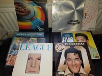 8 Various Vinyl LP's.